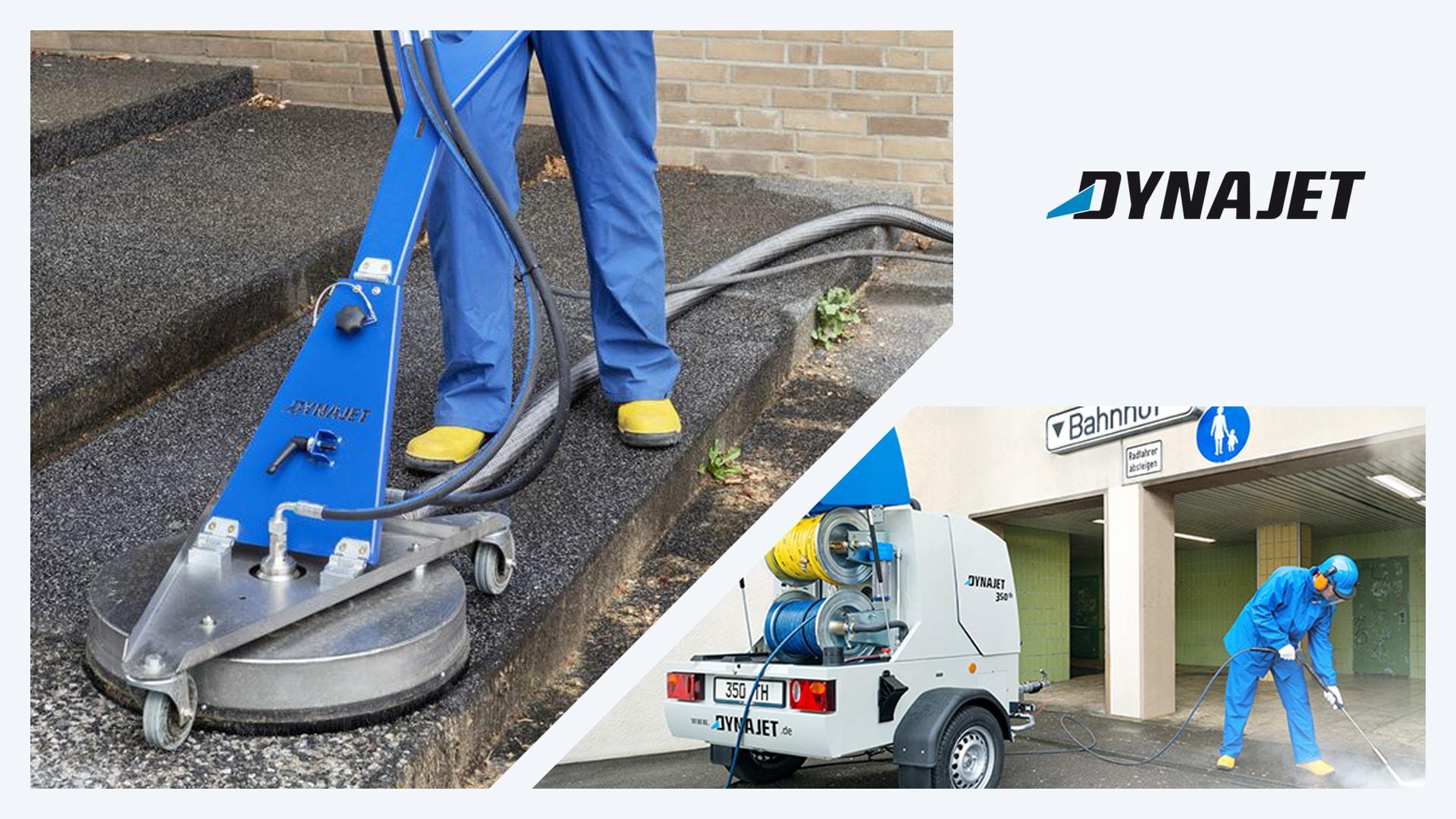 Система за почистване на подови повърхности Dynajet